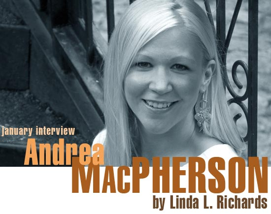 Interview: Andrea MacPherson, Author of Beyond the Blue and Natural Disasters