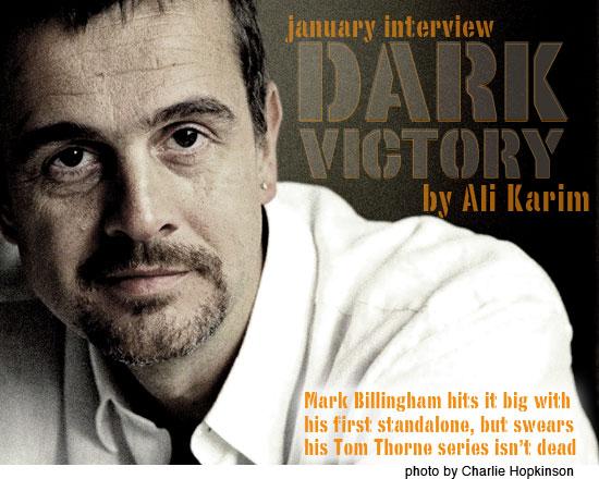 Interview: Mark Billingham