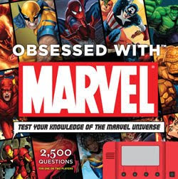 Holiday Gift Guide: <i>Obsessed with Marvel: Test Your Knowledge of the Marvel Universe</i> by Peter Sanderson