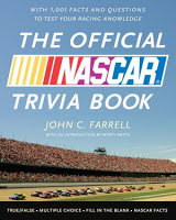 Holiday Gift Guide: The Official NASCAR Trivia Book by John C. Farrell