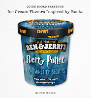Ice Cream Flavored Like… Books?