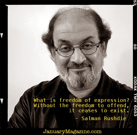 salman rushdie freedom of expression The author of numerous works of fiction and essays, salman rushdie won the booker prize in 1981 for his novel midnight's children , and later that decade.