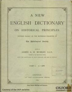 OED to Go Out of Print?