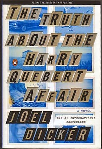 Fiction: The Harry Quebert Affair by Joel Dicker