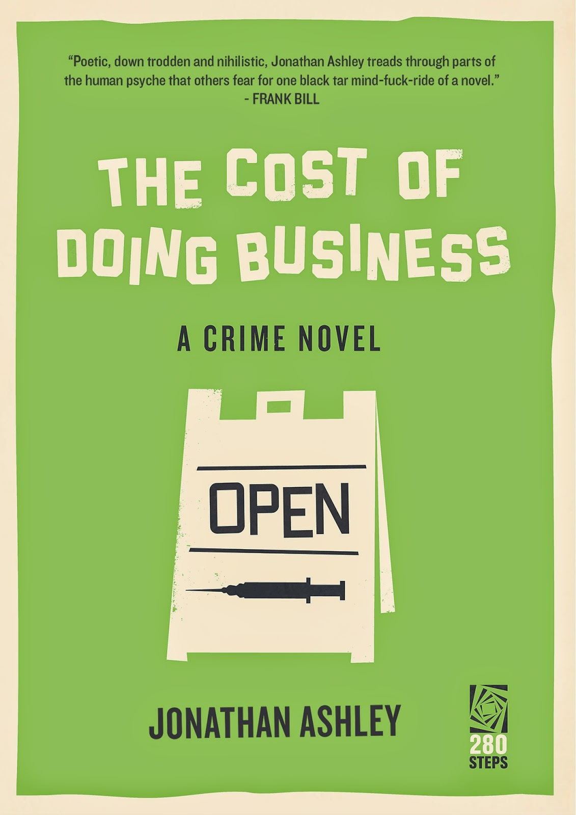 Crime Fiction: <i>The Cost of Doing Business</i> <br>by Jonathan Ashley