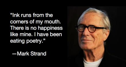 Pulitzer Prize Winning Poet, Mark Strand, Dead at 80