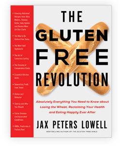 Cookbooks: The Gluten Free Revolution by Jax Peters Lowell