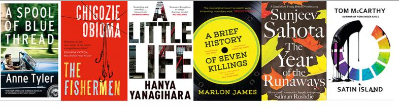 2015 Man Booker Shortlist Announced