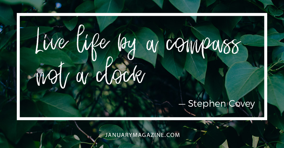Live Life by a Compass