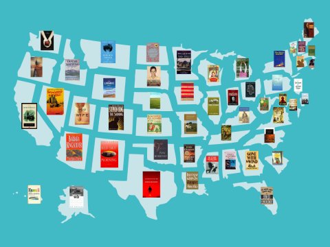 Most Famous Book From Each State