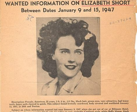 """Black Dahlia"" House Sold"