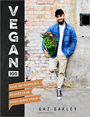 Cookbooks: Vegan 100  by Gaz Oakley