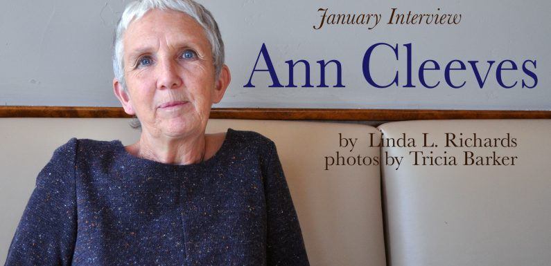 January Interview: Ann Cleeves