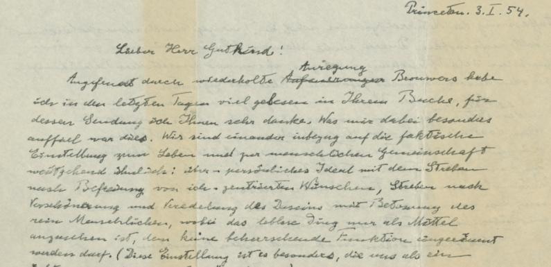 """Christie's to Offer Einstein's """"God Letter"""""""
