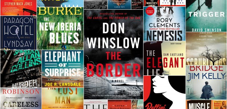Entering 2019, Crime Fiction in Hand