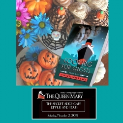 Books, Gourmet Food & Library Love on the Queen Mary