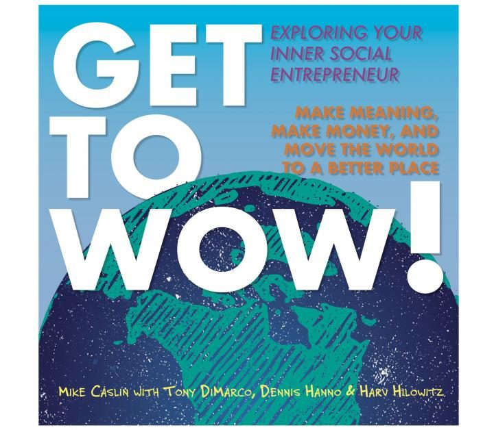 Non-Fiction: Get to Wow! Exploring Your Inner Social Entrepreneur  by Mike Caslin