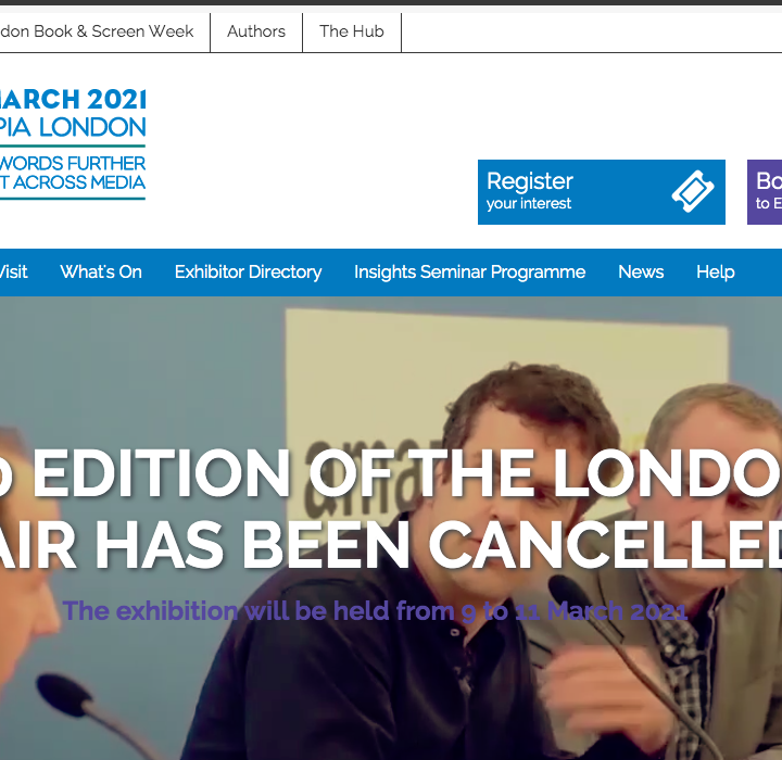 2020 London Book Fair Canceled Due to COVID-19 Coronavirus Concerns