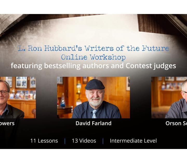 "Popular ""Writers of the Future"" Workshop Wins Online"