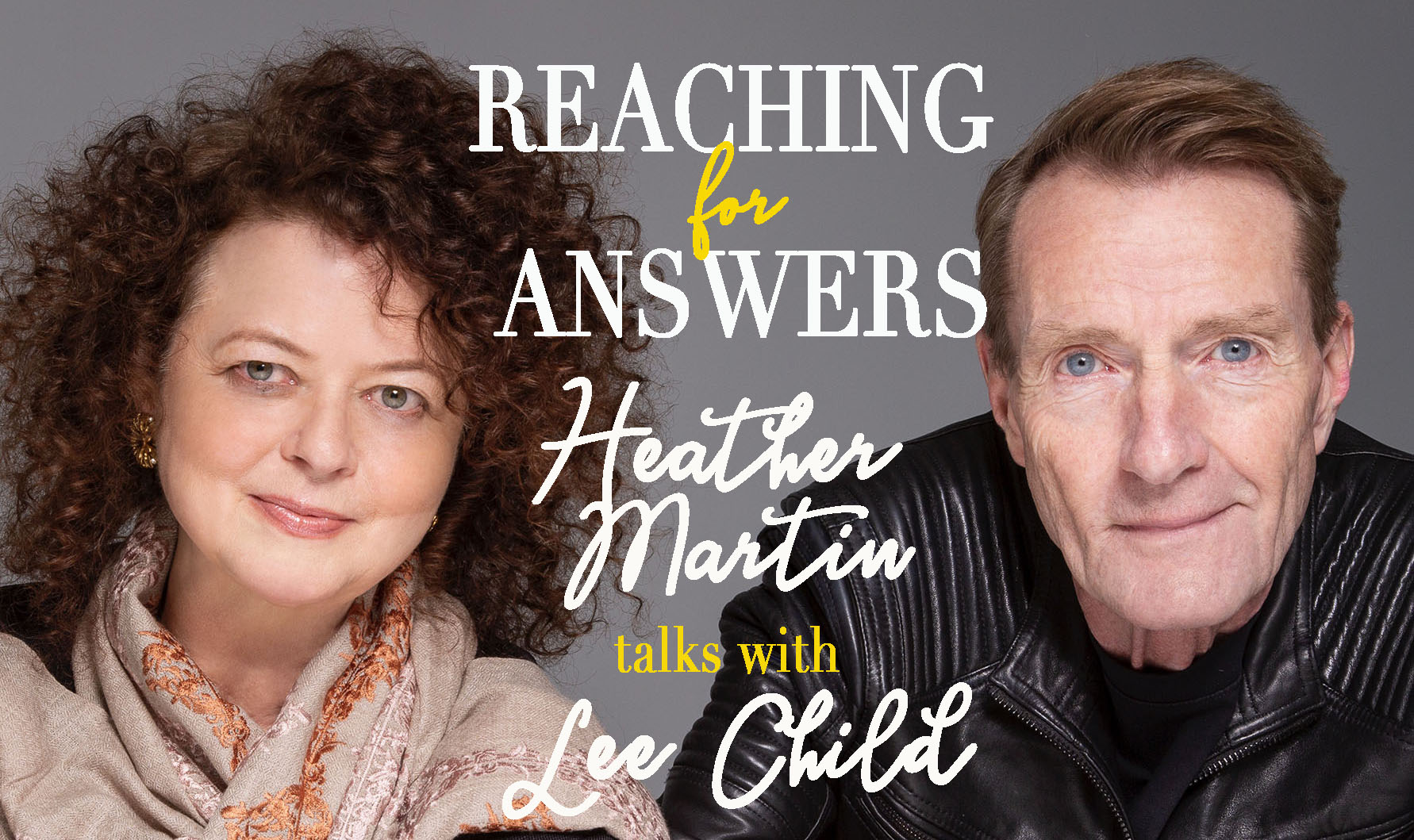 Lee Child and Heather Martin