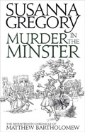 Pierce's Pick: Murder in the Minster by Susanna Gregory