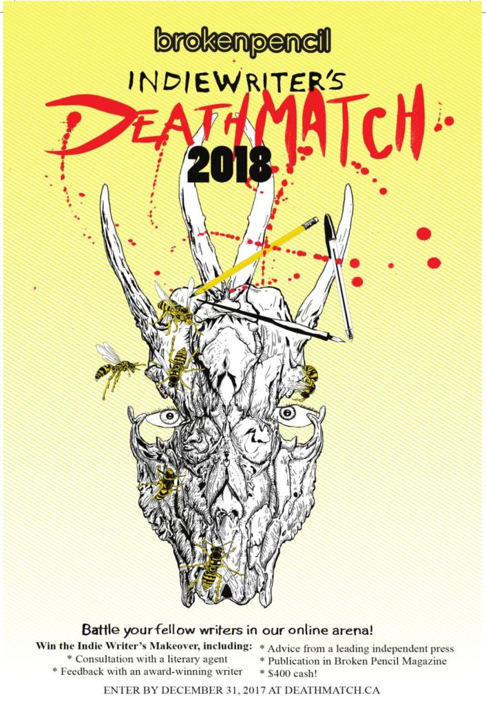 Deadline Nears for Indie Writers Death Match