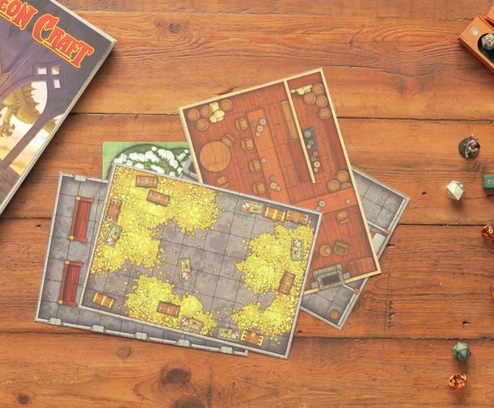 Dungeon Craft  Gains Over $100K in Kickstarter Funding