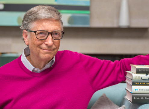 The Four Books Bill Gates Likes Best